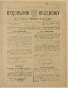 Orędownik Urzędowy Powiatu Mogileńskiego, 1928 Nr 97