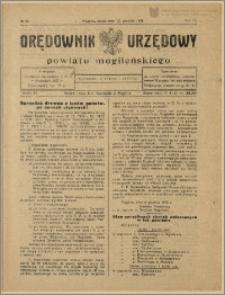Orędownik Urzędowy Powiatu Mogileńskiego, 1928 Nr 99