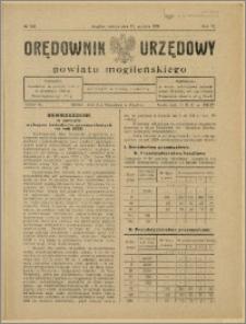 Orędownik Urzędowy Powiatu Mogileńskiego, 1928 Nr 100