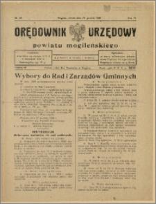 Orędownik Urzędowy Powiatu Mogileńskiego, 1928 Nr 103
