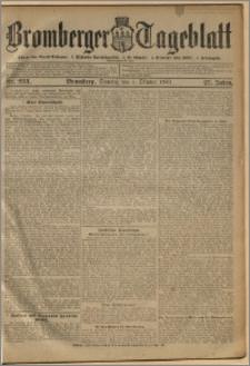 Bromberger Tageblatt. J. 27, 1903, nr 233