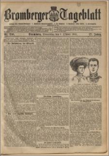 Bromberger Tageblatt. J. 27, 1903, nr 236