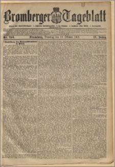 Bromberger Tageblatt. J. 27, 1903, nr 240