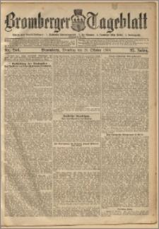 Bromberger Tageblatt. J. 27, 1903, nr 246