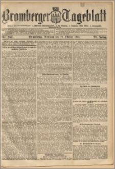 Bromberger Tageblatt. J. 27, 1903, nr 247