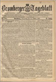 Bromberger Tageblatt. J. 27, 1903, nr 254