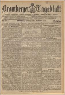 Bromberger Tageblatt. J. 27, 1903, nr 257