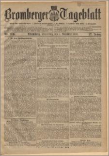 Bromberger Tageblatt. J. 27, 1903, nr 260