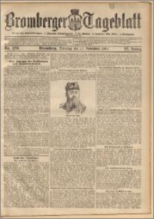 Bromberger Tageblatt. J. 27, 1903, nr 270