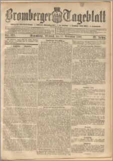 Bromberger Tageblatt. J. 27, 1903, nr 271