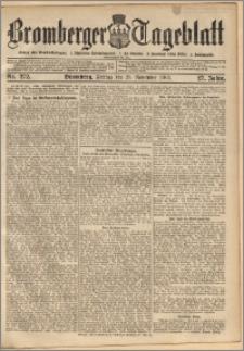 Bromberger Tageblatt. J. 27, 1903, nr 272
