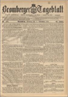 Bromberger Tageblatt. J. 27, 1903, nr 275