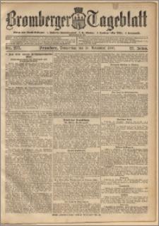 Bromberger Tageblatt. J. 27, 1903, nr 277