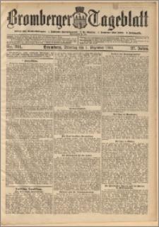 Bromberger Tageblatt. J. 27, 1903, nr 281