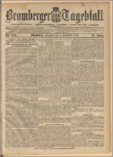 Bromberger Tageblatt. J. 27, 1903, nr 286