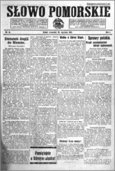 Słowo Pomorskie 1921.01.20 R.1 nr 14