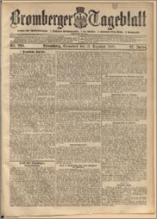 Bromberger Tageblatt. J. 27, 1903, nr 291