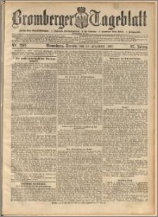 Bromberger Tageblatt. J. 27, 1903, nr 298