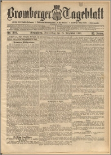 Bromberger Tageblatt. J. 27, 1903, nr 301