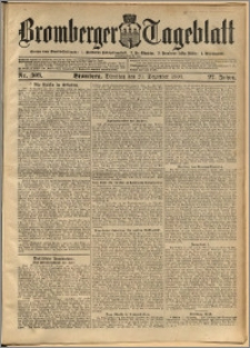 Bromberger Tageblatt. J. 27, 1903, nr 303