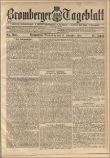 Bromberger Tageblatt. J. 27, 1903, nr 305