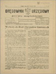 Orędownik Urzędowy Powiatu Mogileńskiego, 1929 Nr 3