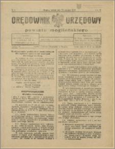 Orędownik Urzędowy Powiatu Mogileńskiego, 1929 Nr 4