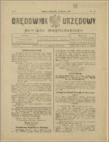 Orędownik Urzędowy Powiatu Mogileńskiego, 1929 Nr 5