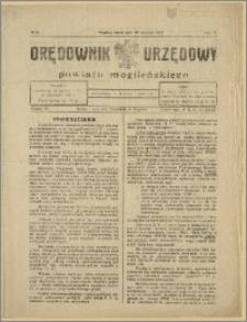 Orędownik Urzędowy Powiatu Mogileńskiego, 1929 Nr 9