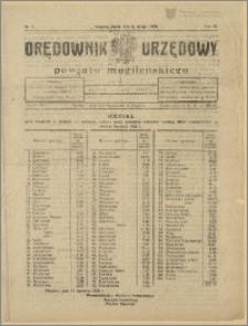 Orędownik Urzędowy Powiatu Mogileńskiego, 1929 Nr 11