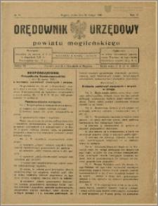 Orędownik Urzędowy Powiatu Mogileńskiego, 1929 Nr 15