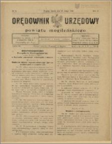 Orędownik Urzędowy Powiatu Mogileńskiego, 1929 Nr 16