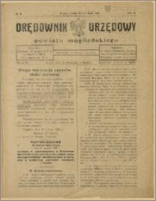 Orędownik Urzędowy Powiatu Mogileńskiego, 1929 Nr 18