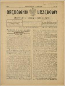 Orędownik Urzędowy Powiatu Mogileńskiego, 1929 Nr 27