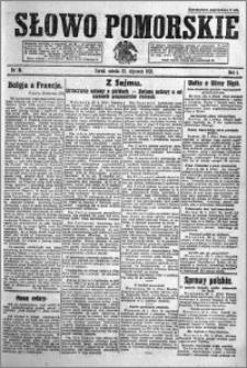 Słowo Pomorskie 1921.01.22 R.1 nr 16