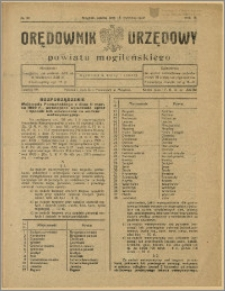 Orędownik Urzędowy Powiatu Mogileńskiego, 1929 Nr 30
