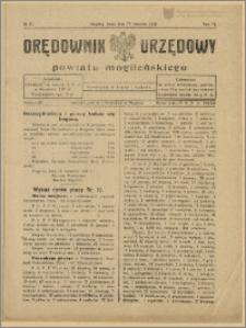 Orędownik Urzędowy Powiatu Mogileńskiego, 1929 Nr 31