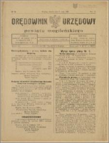 Orędownik Urzędowy Powiatu Mogileńskiego, 1929 Nr 36