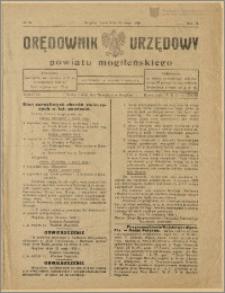 Orędownik Urzędowy Powiatu Mogileńskiego, 1929 Nr 39