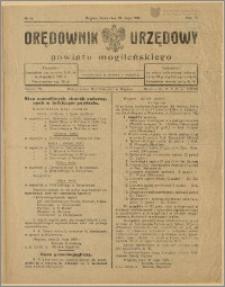 Orędownik Urzędowy Powiatu Mogileńskiego, 1929 Nr 43