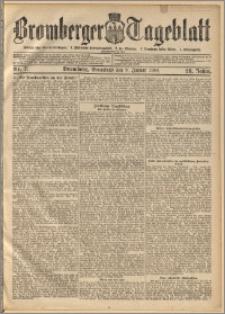 Bromberger Tageblatt. J. 28, 1904, nr 7