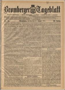 Bromberger Tageblatt. J. 28, 1904, nr 24