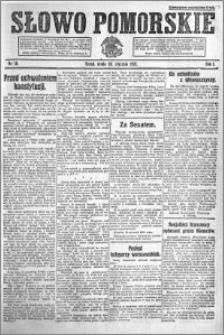 Słowo Pomorskie 1921.01.26 R.1 nr 19
