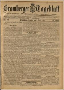 Bromberger Tageblatt. J. 28, 1904, nr 79