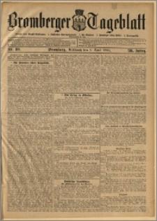 Bromberger Tageblatt. J. 28, 1904, nr 80