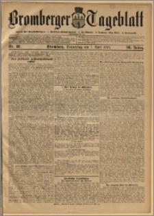 Bromberger Tageblatt. J. 28, 1904, nr 81