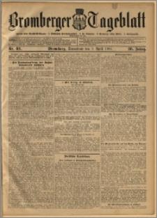 Bromberger Tageblatt. J. 28, 1904, nr 83