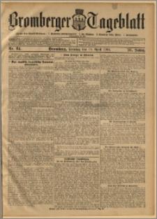 Bromberger Tageblatt. J. 28, 1904, nr 84