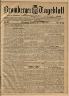 Bromberger Tageblatt. J. 28, 1904, nr 85