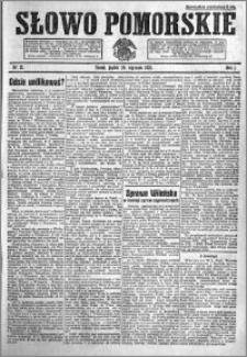 Słowo Pomorskie 1921.01.28 R.1 nr 21
